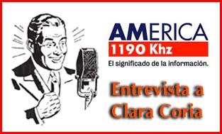 Luisa Valmaggia y Jorge Halperin entrevistan a Clara Coria