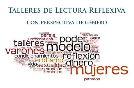 Talleres de Lectura Reflexiva – con perspectiva de género