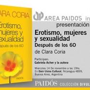 Presentación del nuevo libro de Clara Coria