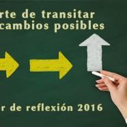 El arte de transitar los cambios posibles – Taller